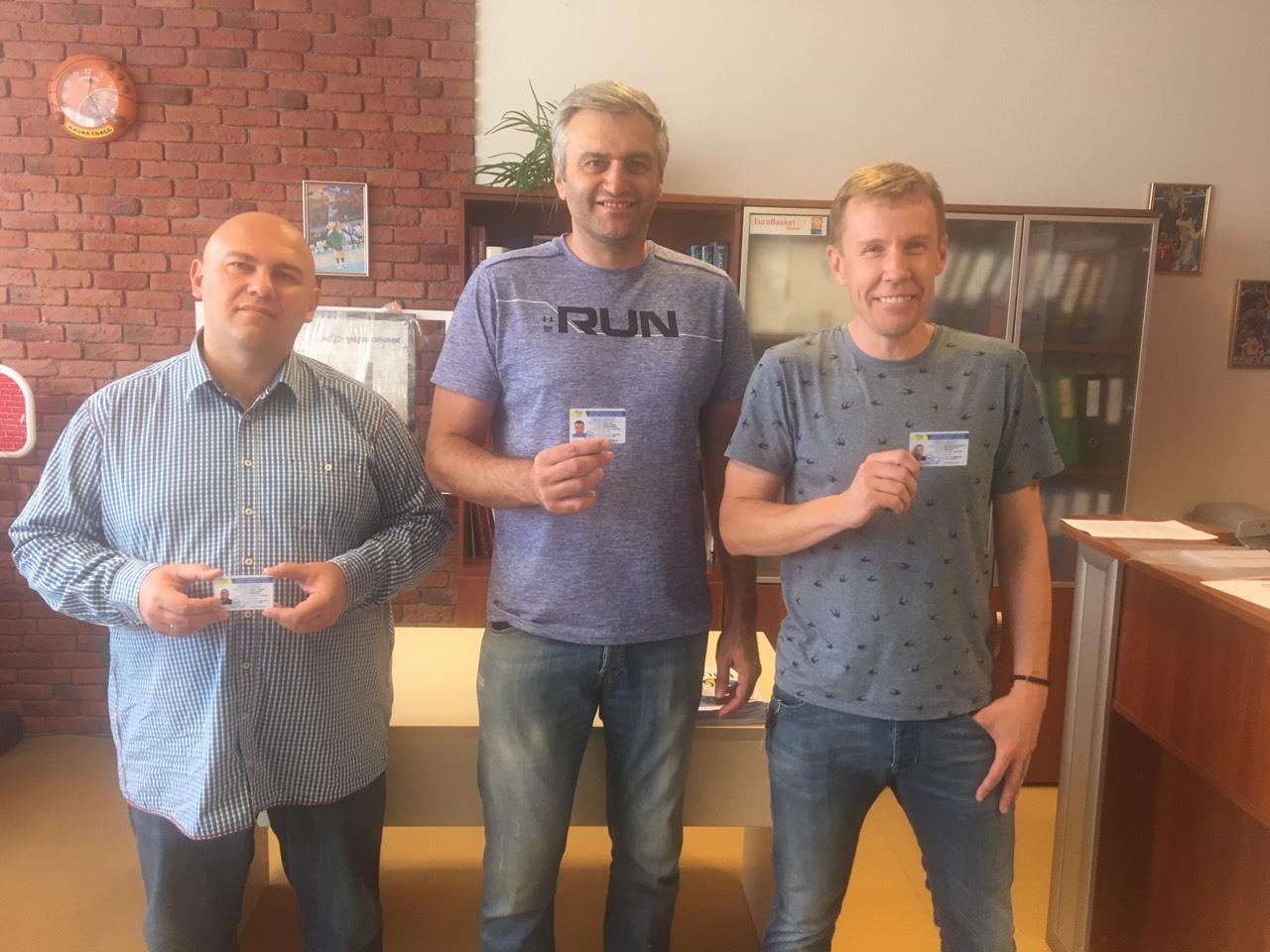 Перші тренери отримали ліцензії категорії PRO
