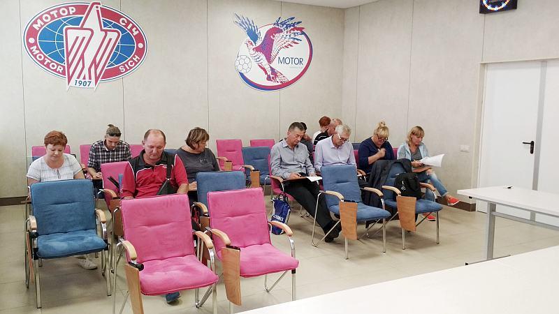У Запоріжжі відбувся передсезонний семінар для тренерів та суддів