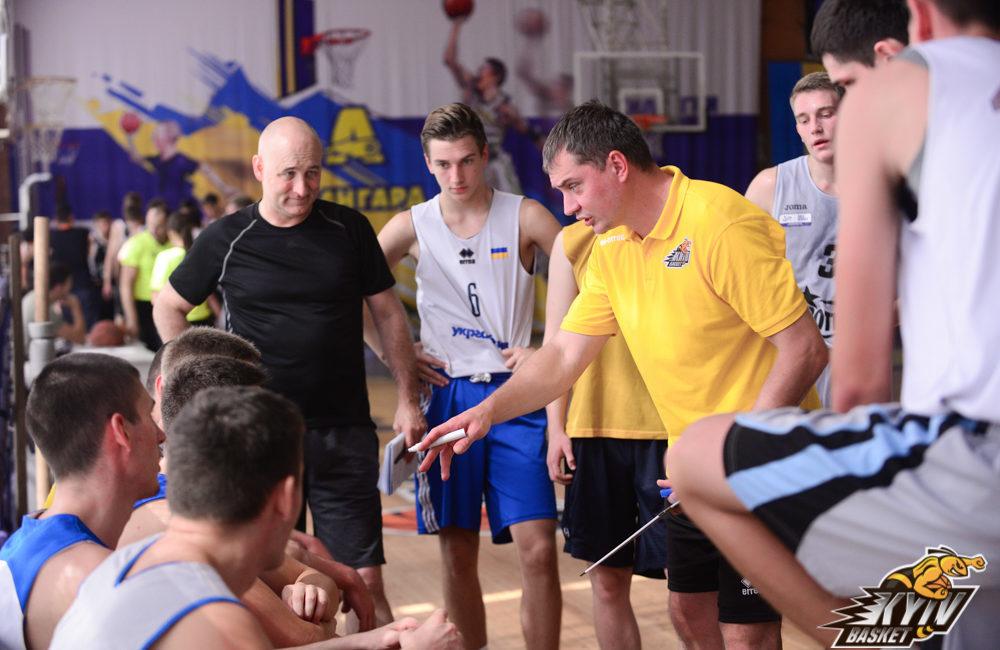 Київ-Баскет здолав у спарингу НУФВСУ