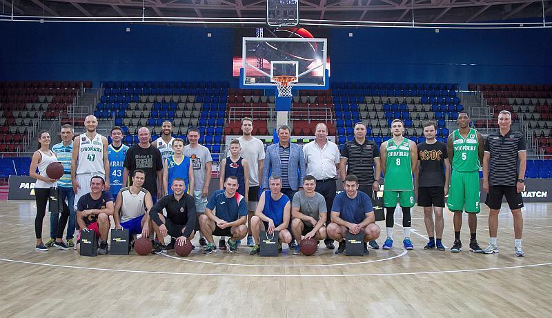 У Запоріжжі відкрили сезон великого баскетболу