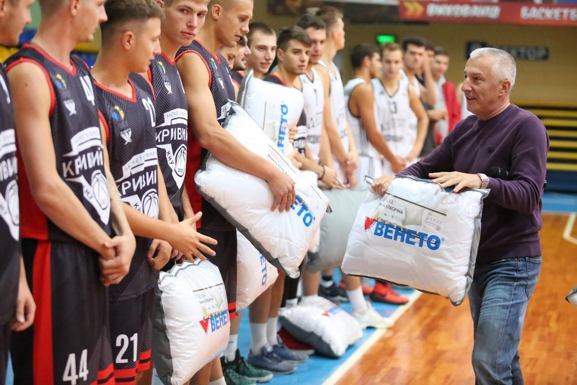 Кубок Венето: Кривий Ріг з трьома перемогами виграв турнір
