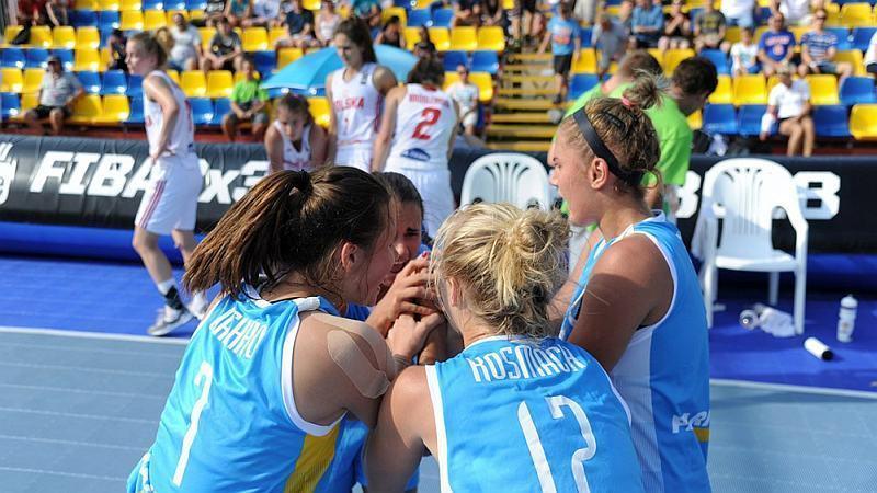 Визначився склад жіночої збірної України 3х3 на юнацьку Олімпіаду