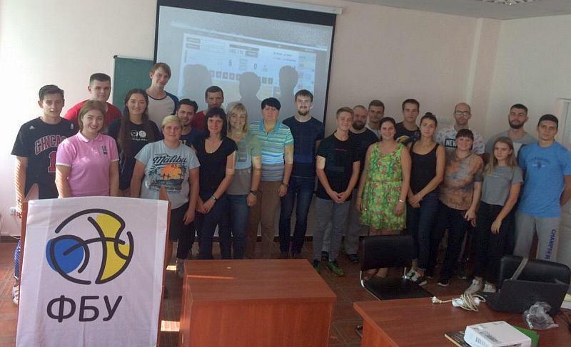У Києві відбувся семінар для баскетбольних статистиків
