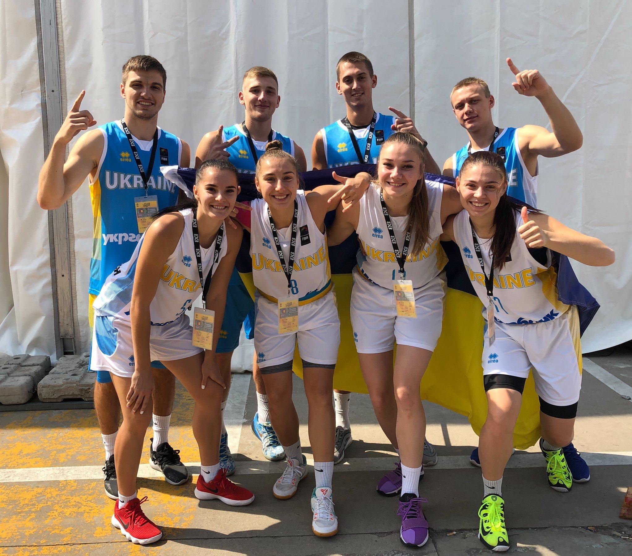 Чемпіонат світу 3х3 (U-23): онлайн відеотрансляція 5 жовтня