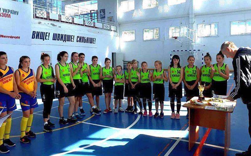 На Херсонщині відбувся юнацький баскетбольний турнір