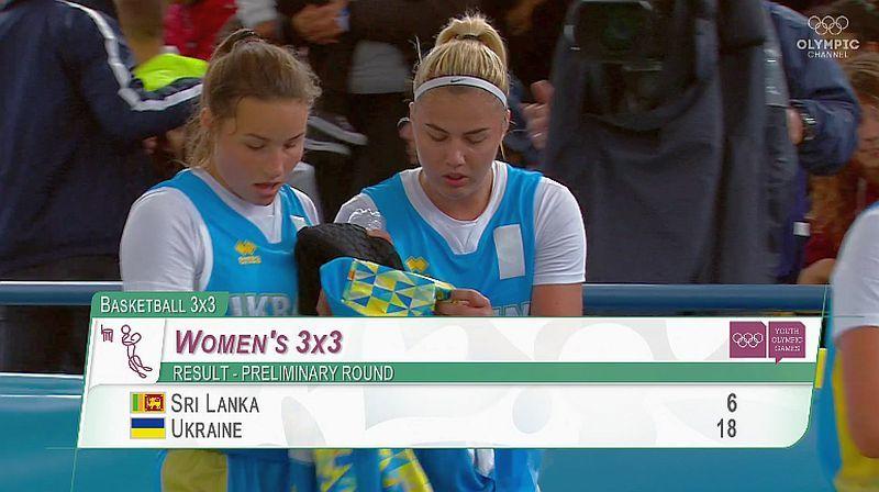 Жіноча збірна України 3х3 вийшла в чвертьфінал Олімпіади