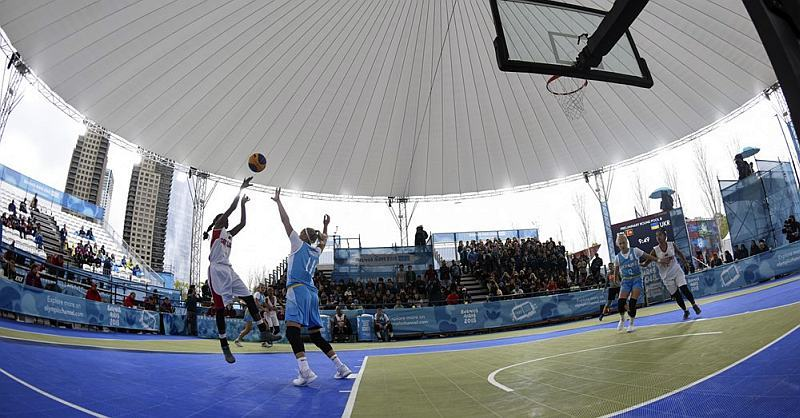 Юнацька Олімпіада: трансляція матчів з баскетболу 3х3