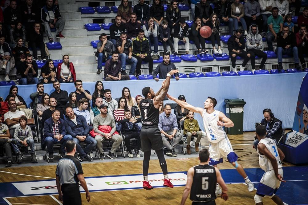 Черкаські Мавпи стартували в груповому раунді Кубку Європи FIBA з виїзної поразки