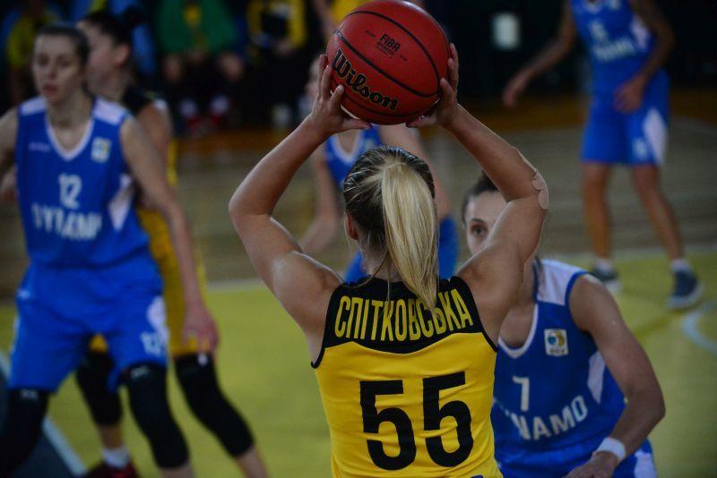 Київ-Баскет - Динамо: онлайн відеотрансляція жіночої Суперліги
