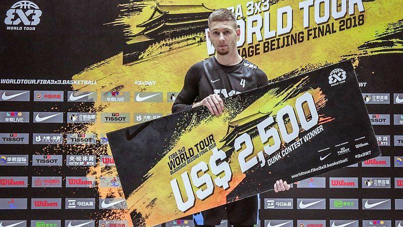 Український данкер Піддубченко виграв фінальний етап FIBA 3x3 World Tour