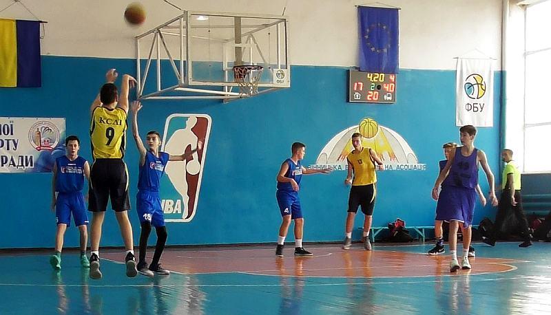 У Вінниці зіграно матчі ВЮБЛ