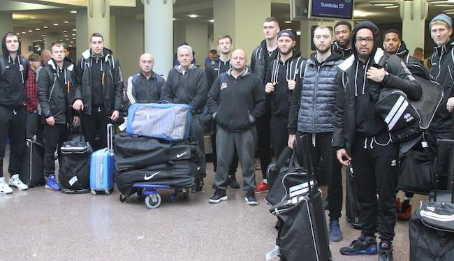 Черкаські Мавпи прибули у Вільнюс на матч з Приштиною