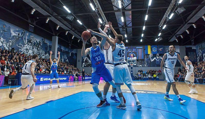 Дніпро вчетверте програв на груповому етапі Кубка Європи ФІБА