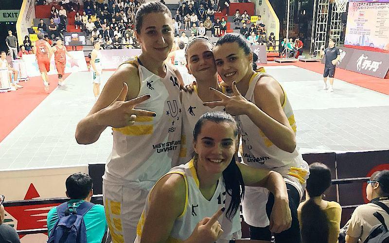 Україна здобула другу перемогу у Всесвітній університетській лізі 3х3
