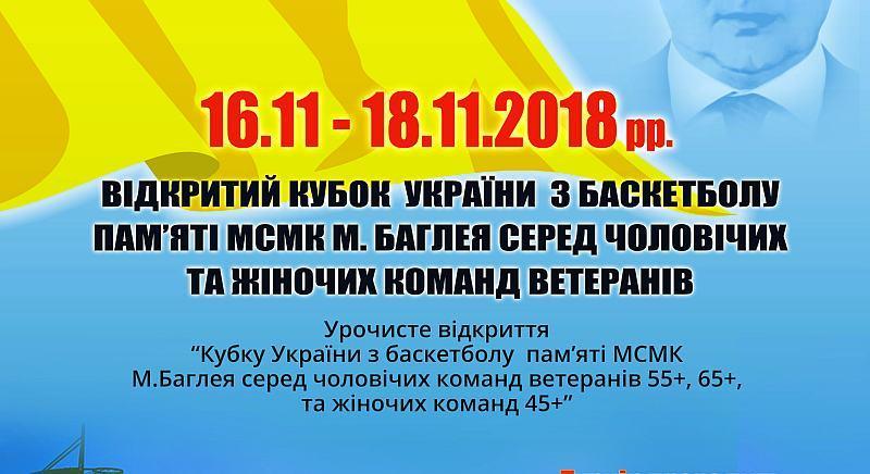 У Києві відбудеться Меморіал Миколи Баглея