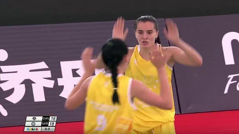 Україна перемогла в групі Всесвітньої університетської ліги 3х3