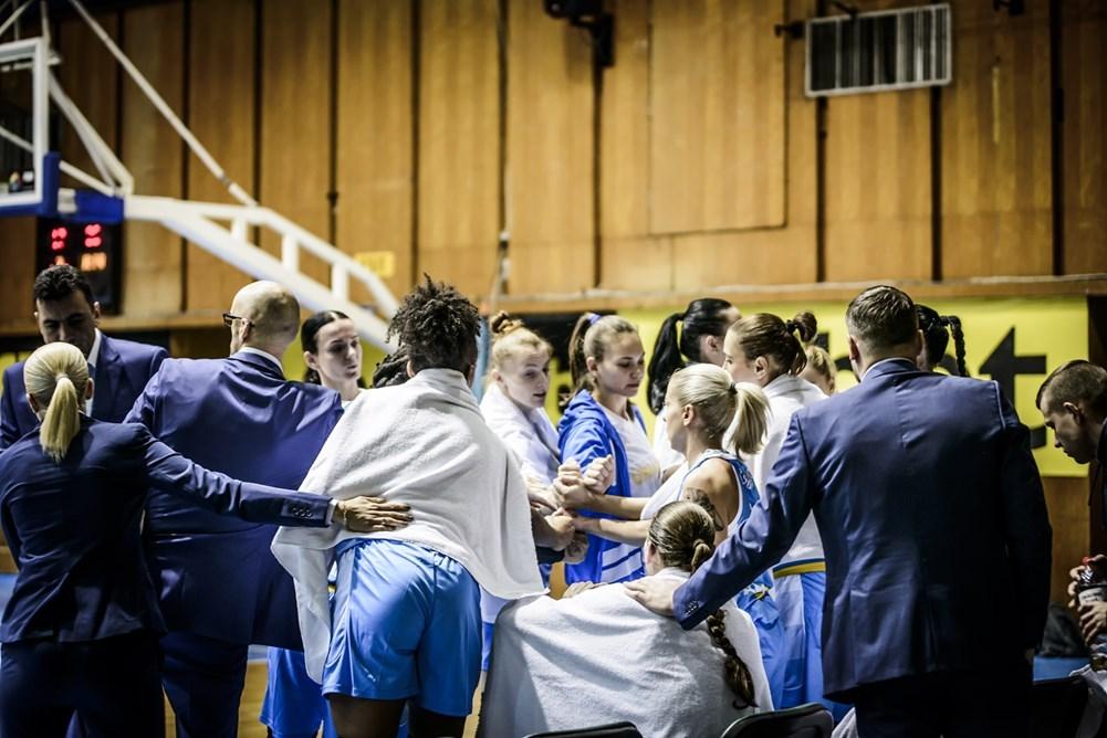 Жіноча збірна України вдруге поступилась Іспанії у відборі на ЄвроБаскет-2019
