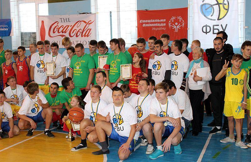 У Смілі відбулися баскетбольні змагання Спеціальної Олімпіади України