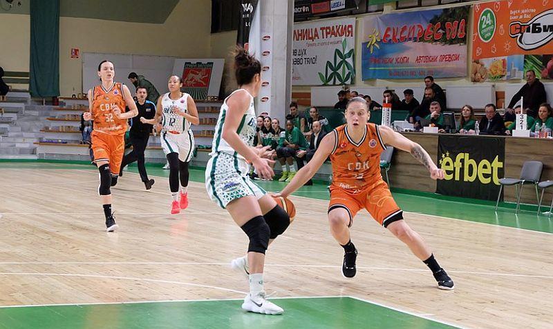 Команда українських збірниць вийшла в наступний раунд жіночого Єврокубку