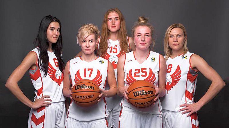 Баскетбольні красуні Рівного: фотосесія команди Суперліги