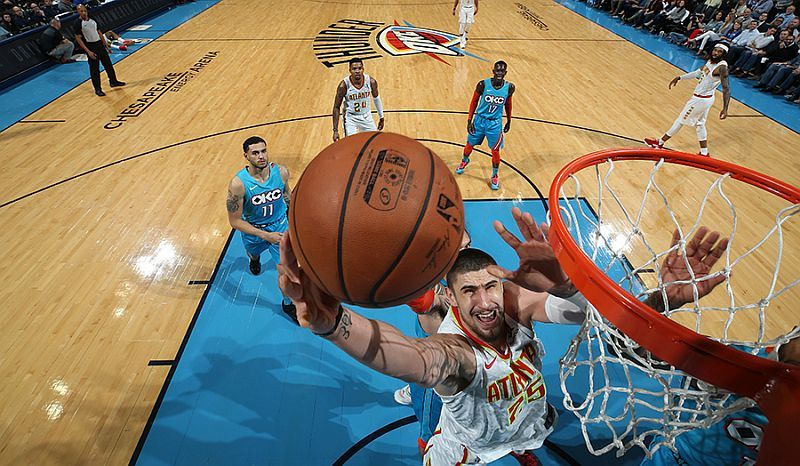 Українець Лень встановив особистий рекорд в НБА