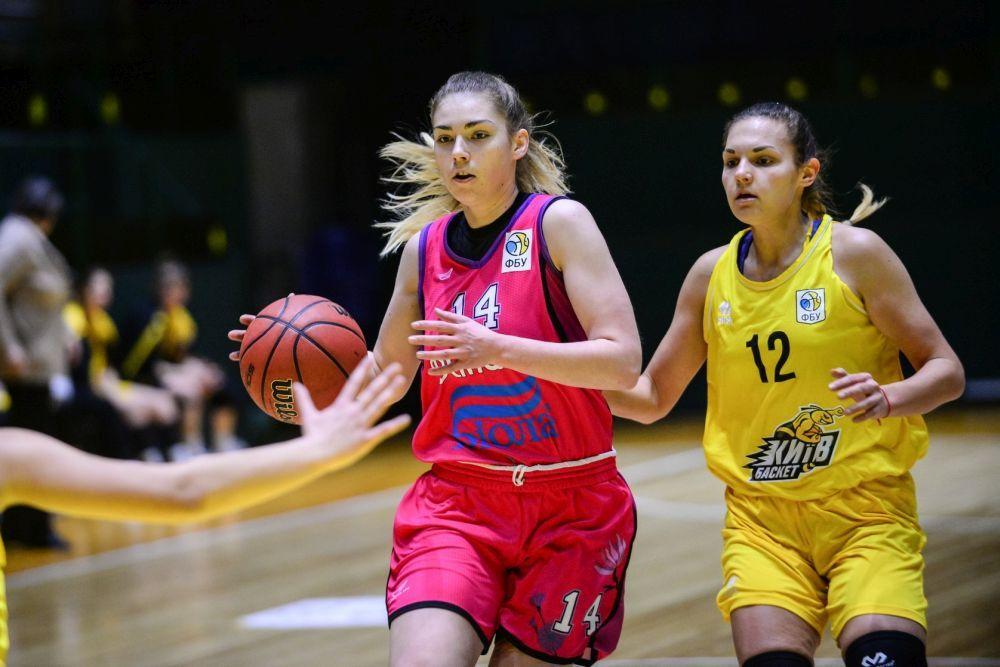 Вища ліга (жінки): КСЛІ-Київ-Баскет поступився КСЛІ-Динамо-НПУ