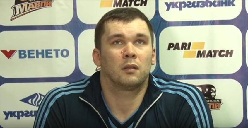 Трилер в Черкасах: відео коментарів після гри Мавпи - Дніпро
