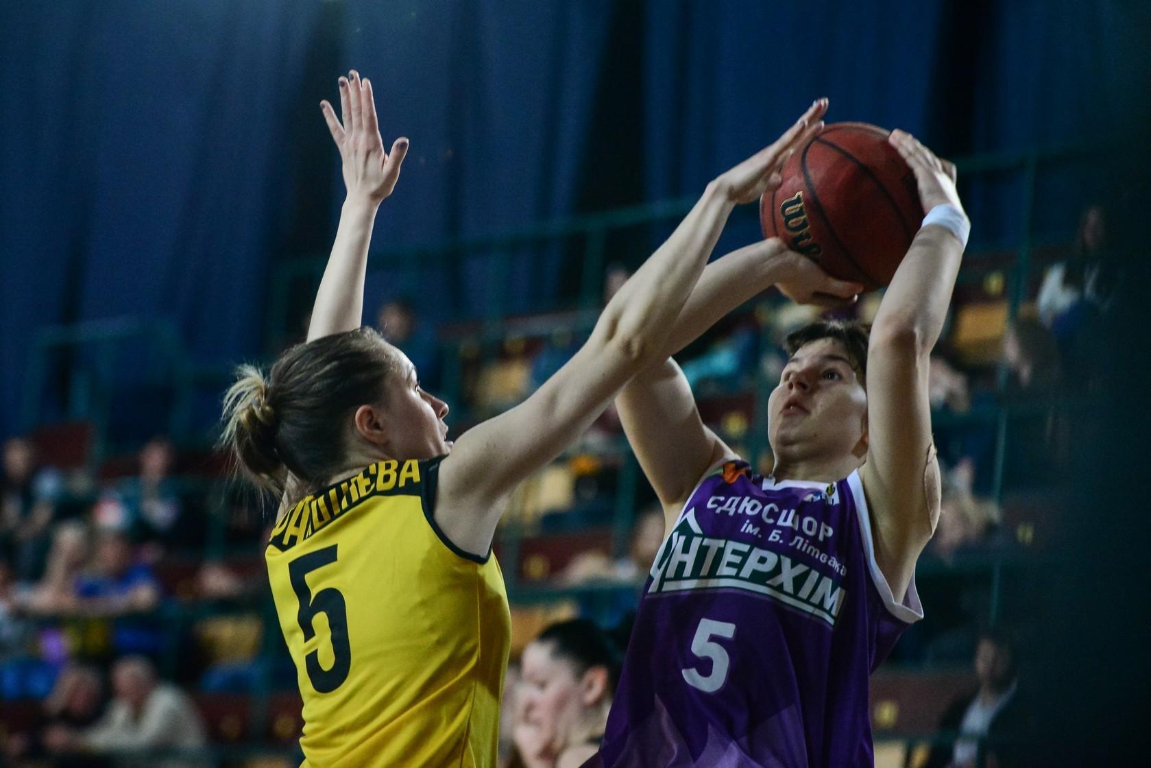 Жіноча Суперліга: Київ-Баскет переміг в Одесі ІнтерХім-СДЮСШОР