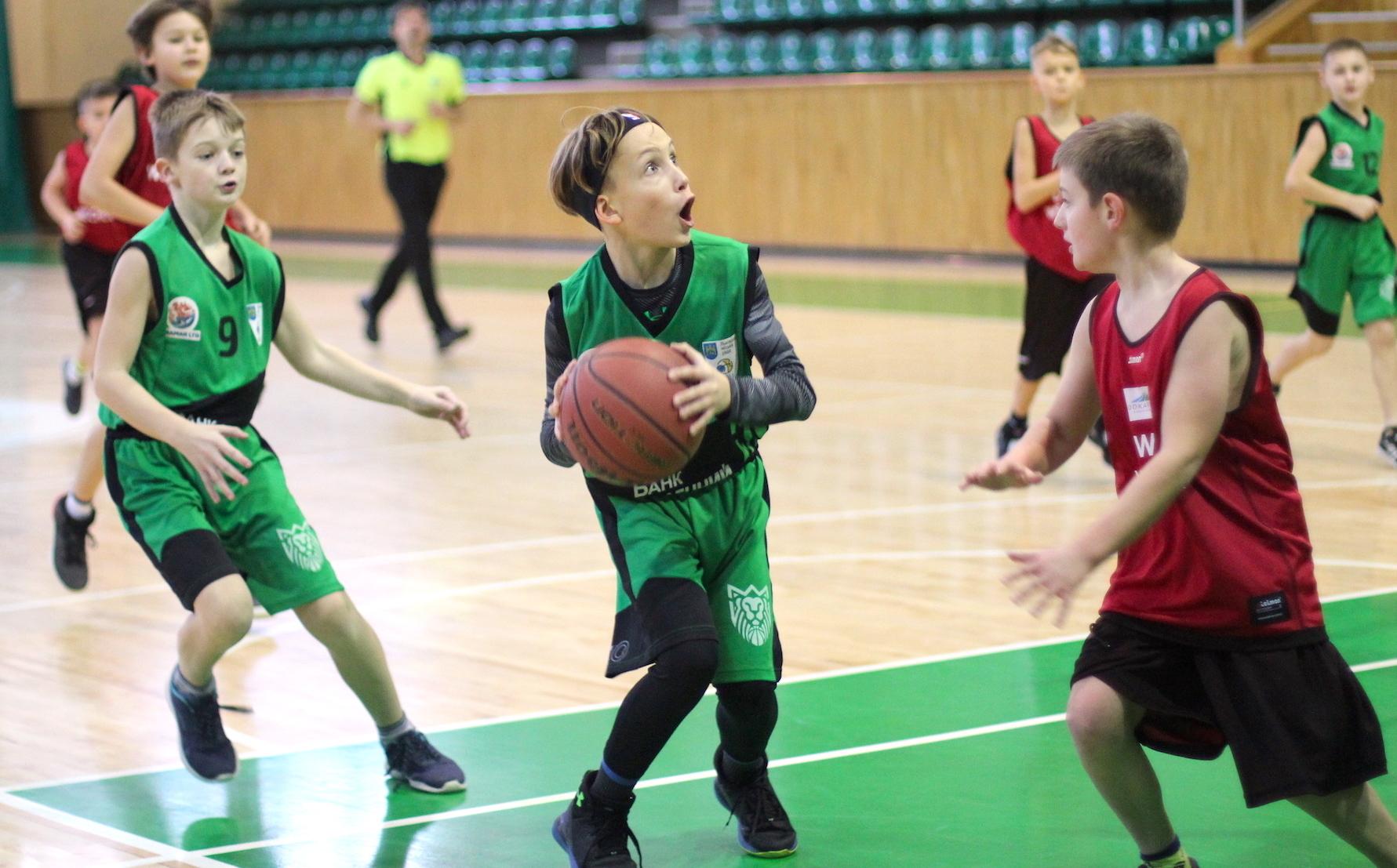 У Львові завершились міжнародні дитячі змагання з баскетболу: фото