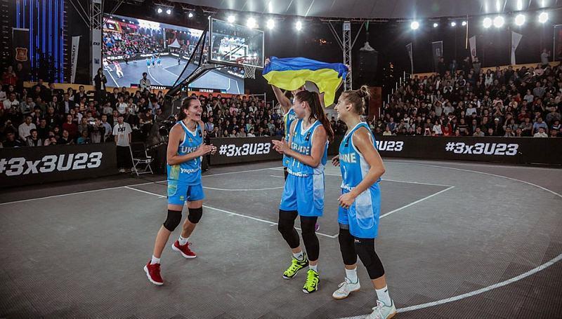 Баскетбол 3х3: названо учасників чемпіонату світу U-23