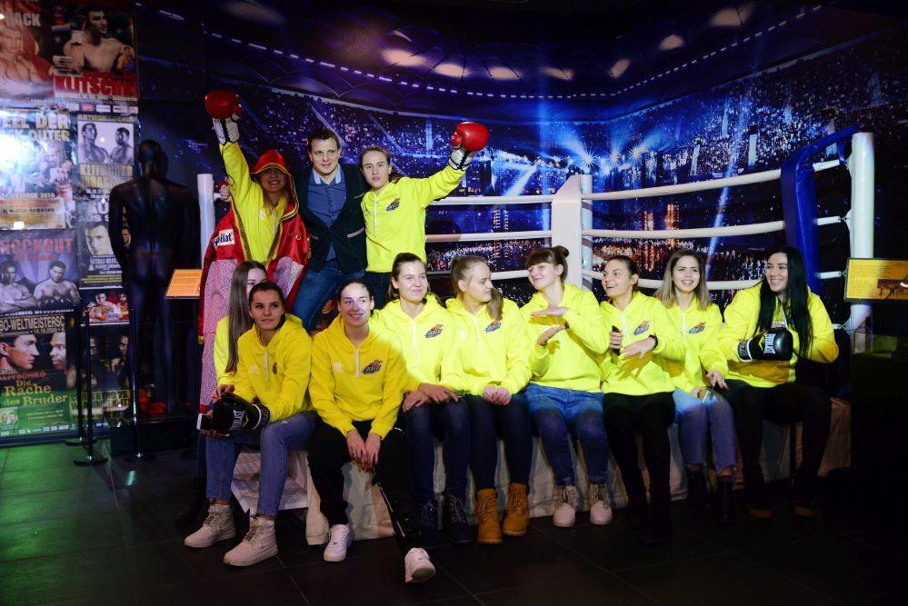 Дівчата-чемпіонки з Київ-Баскета - у Музеї Кличків