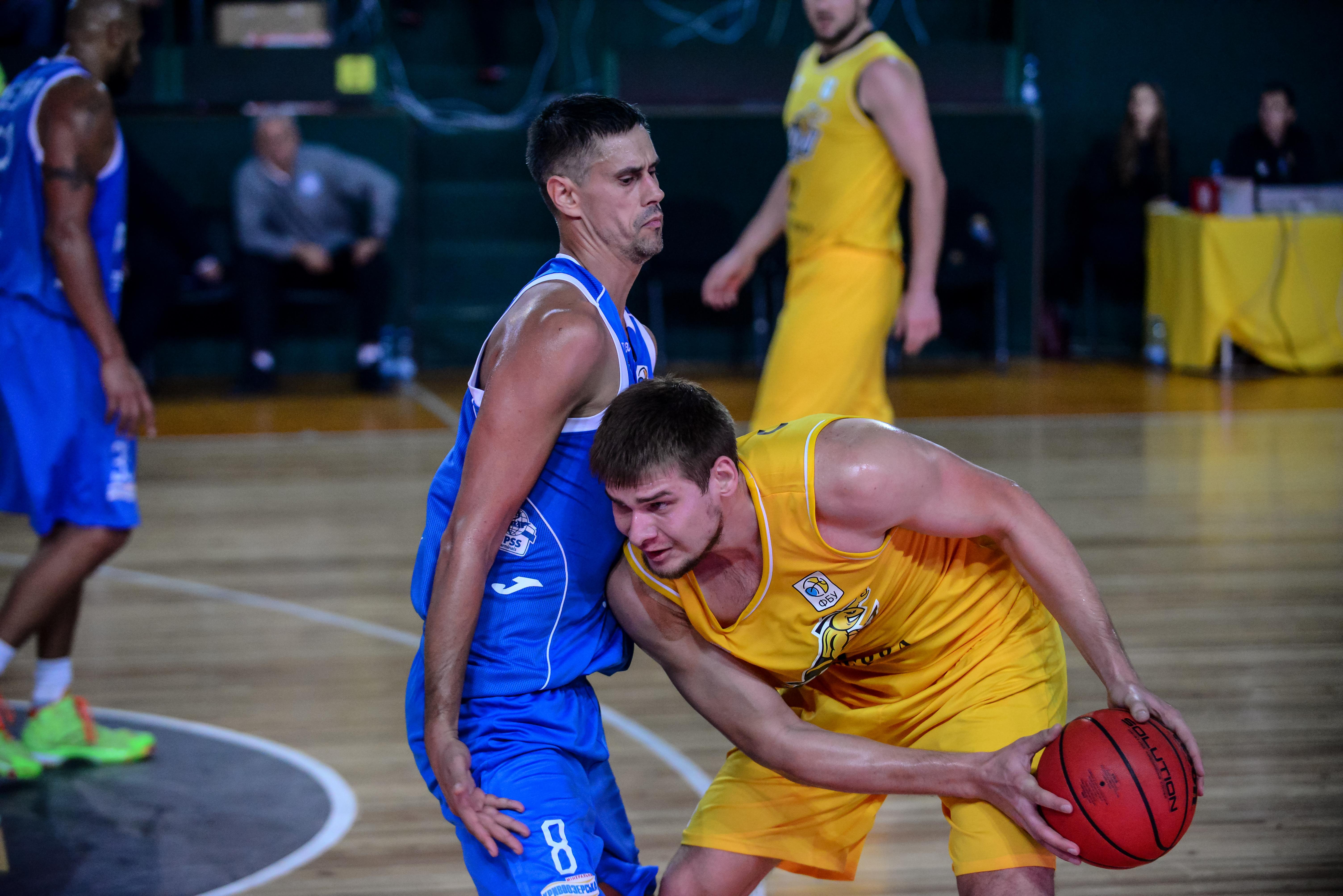 Київ-Баскет відривається від Миколаєва у турнірній таблиці