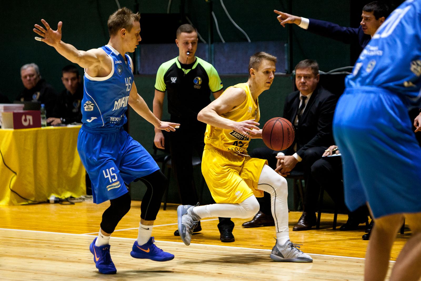 Київ-Баскет та Миколаїв провели перший матч року в чемпіонаті України: фотогалерея