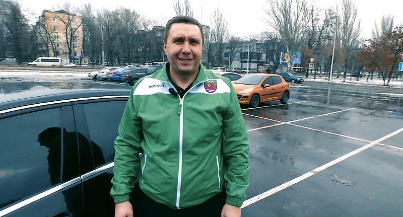 Що у багажнику тренера команди Суперліги: відео з Запоріжжя