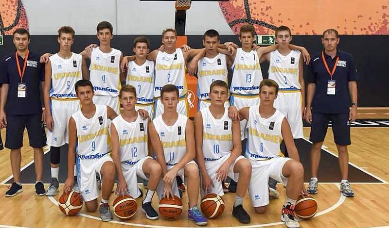 Збірна України U-14 зіграла другий матч туру ЄЮБЛ