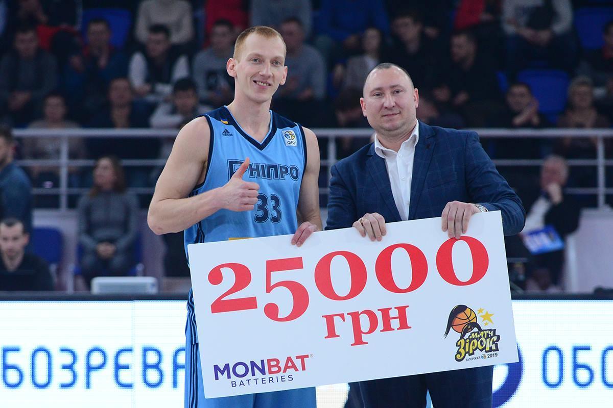 Максим Заркудаєв у фіналі Конкурса триочкових відібрав титул у Олексія Онуфрієва