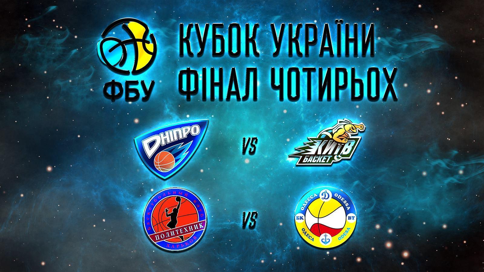 Дніпро прийме Фінал чотирьох Кубка України, стали відомі півфінальні пари