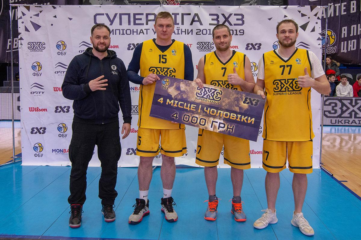 Луцька баскетбольна команда опинилася серед призерів на етапі Суперліги 3х3