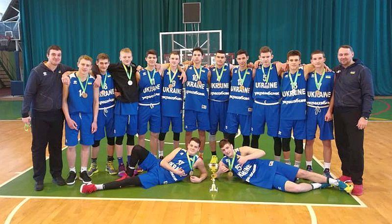 Збірна України U-16 зіграла на етапі ЄЮБЛ