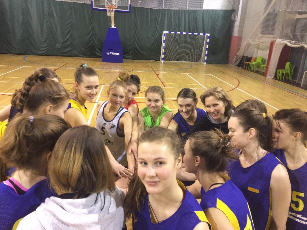 Жіноча збірна України U-16 готується до матчів юнацької Євроліги