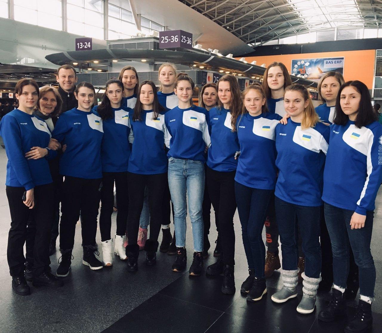Жіноча збірна України U-16 вирушила на етап EYBL