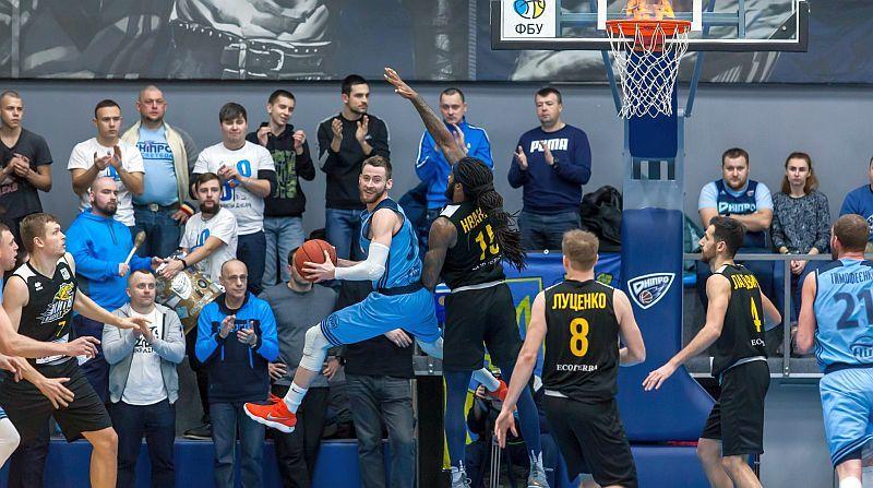 Як Дніпро зупинив Київ-Баскет: фотогалерея матчу
