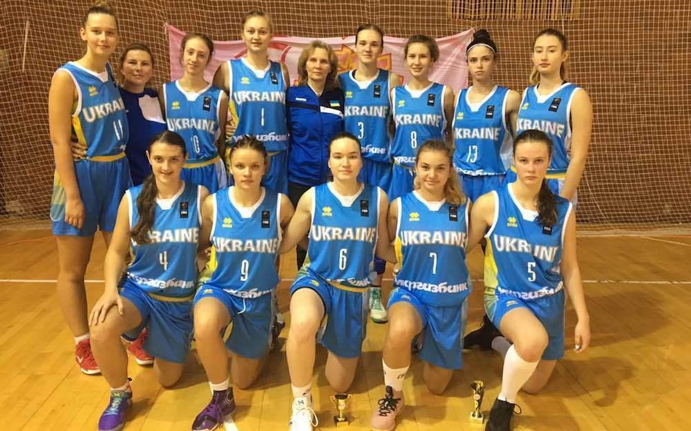Жіноча збірна України U-16 зіграла ще два матчі EYBL