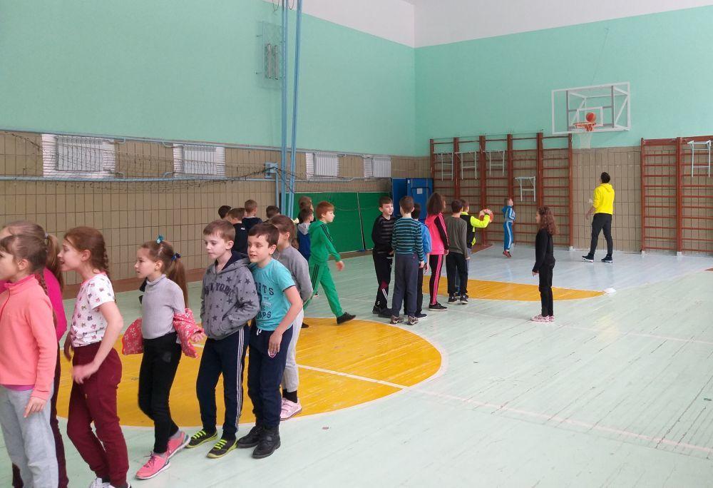 Київ-Баскет у дії: майстер-клас для учнів школи №52