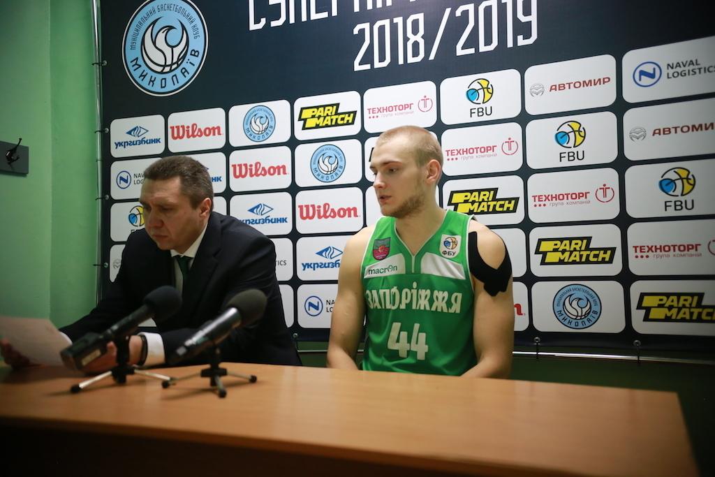 Миколаїв вдома поступився Запоріжжю: відео коментарів після гри