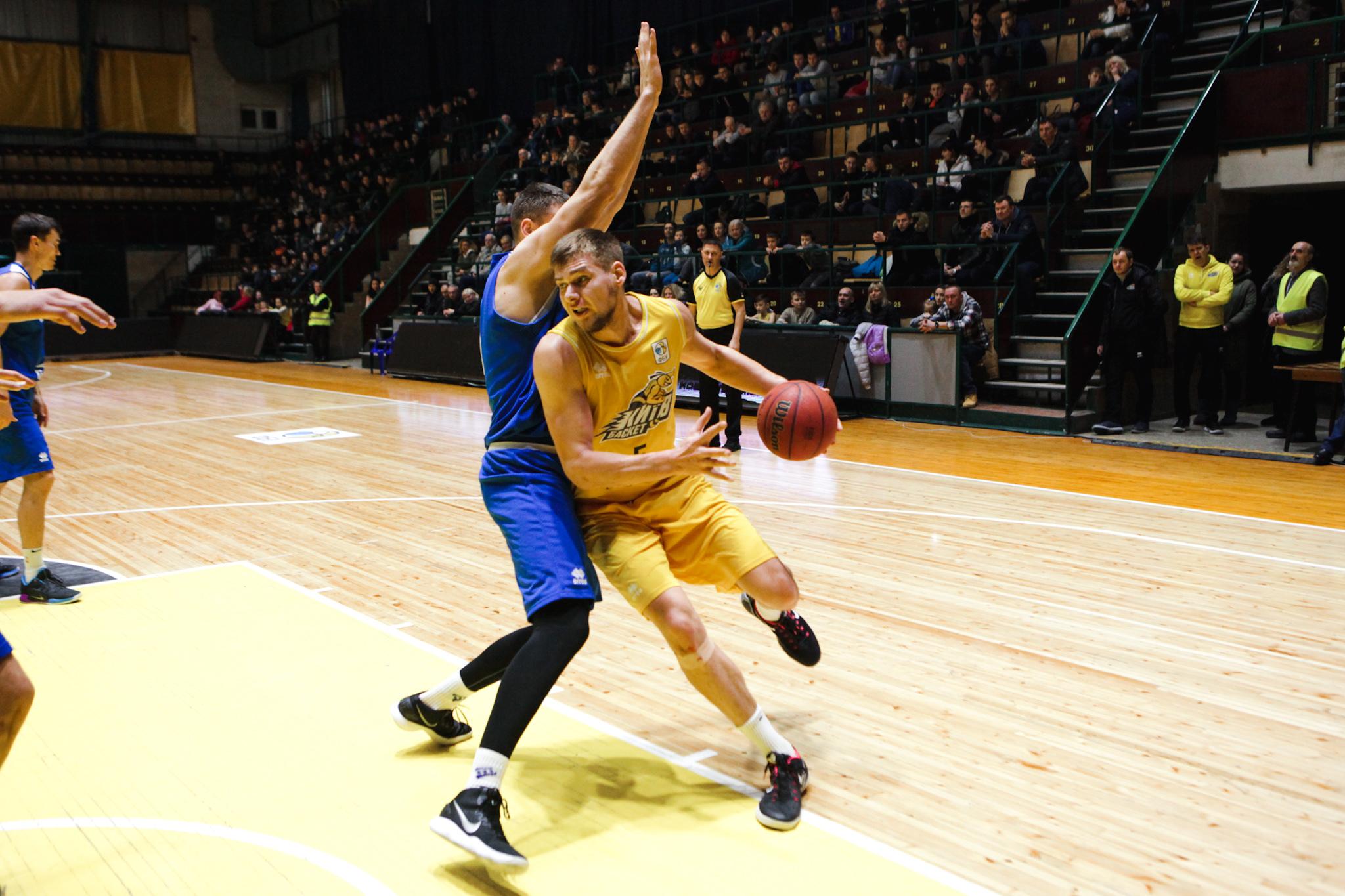 Київ-Баскет переміг Одесу в столиці: фотогалерея