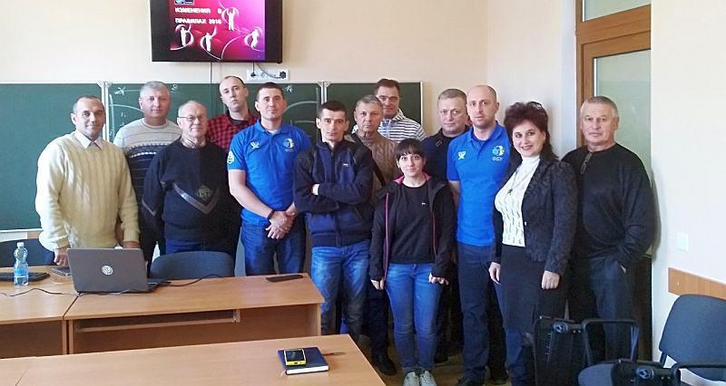 У Миколаєві відбувся баскетбольний семінар