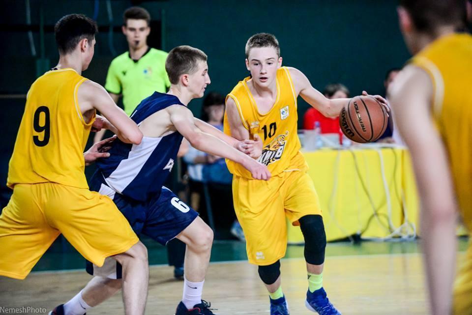 ВЮБЛ (юнаки-2003): КСЛІ-Київ-Баскет переможно розпочав столичний тур