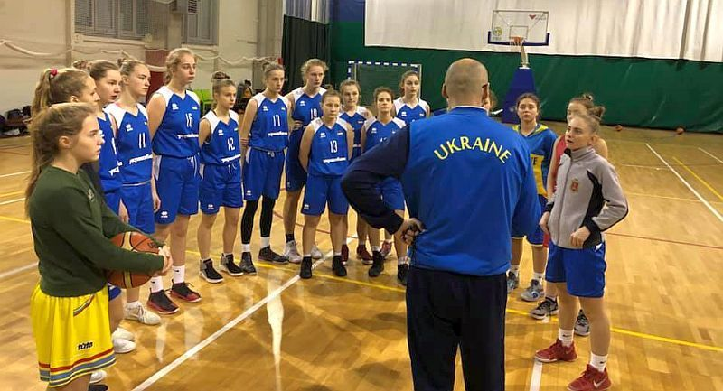 Жіноча збірна України U-15: збори перед етапом EYBL