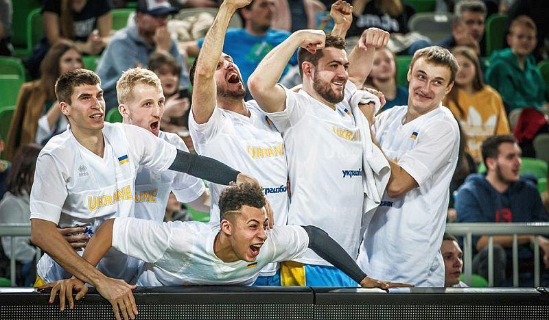 Збірна України в топ-20 світового рейтингу ФІБА